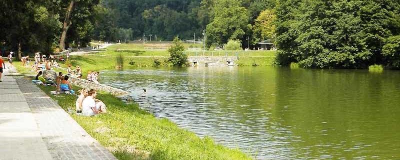 озеро парк Феофанія