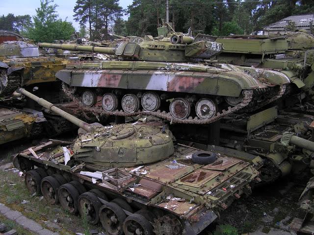 кладовище танків Київ