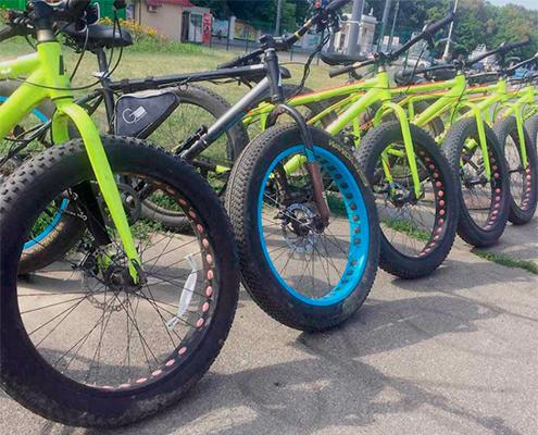 Прокат велосипедів Феофанія