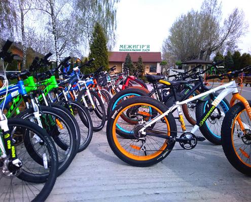 Прокат велосипедів Межигір'я